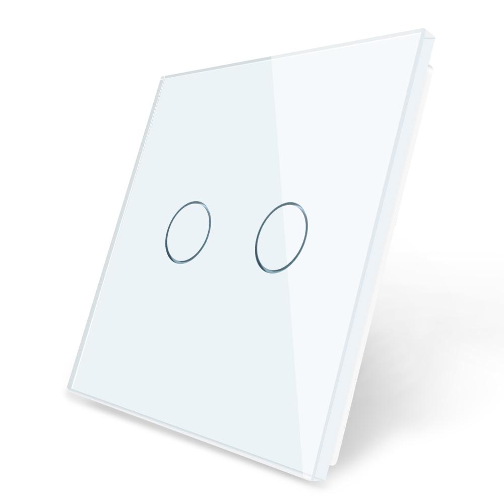 Dvipole stiklo panele